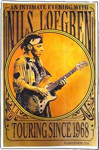 Intimate Evening Vintage Tour Poster